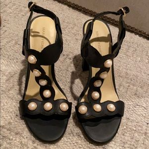 NEVER WORN Black Heel Sandal